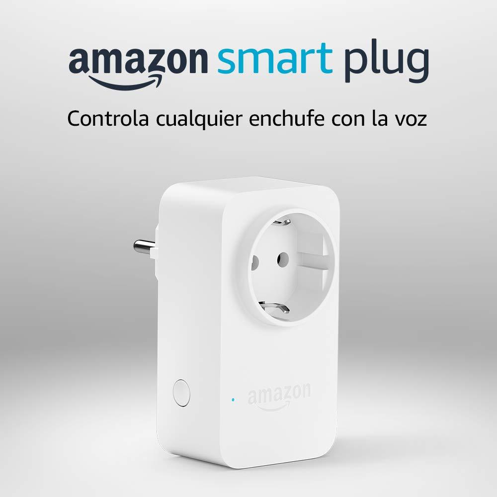 Amazon Smart Plug (enchufe inteligente wifi), compatible con Alexa