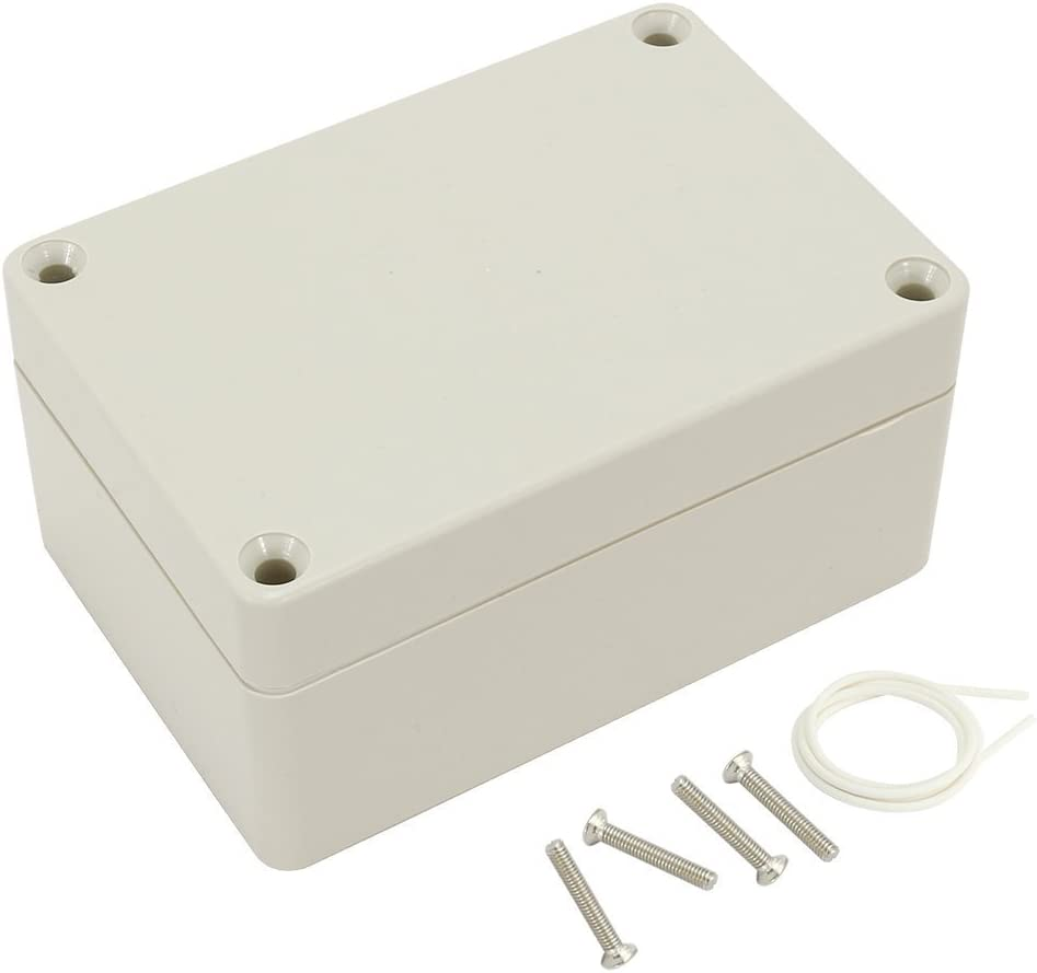 ABS Junction Box Universal Electric Project Enclosure 100mmx68mmx50mm sourcingmap 3.9x2.7x2