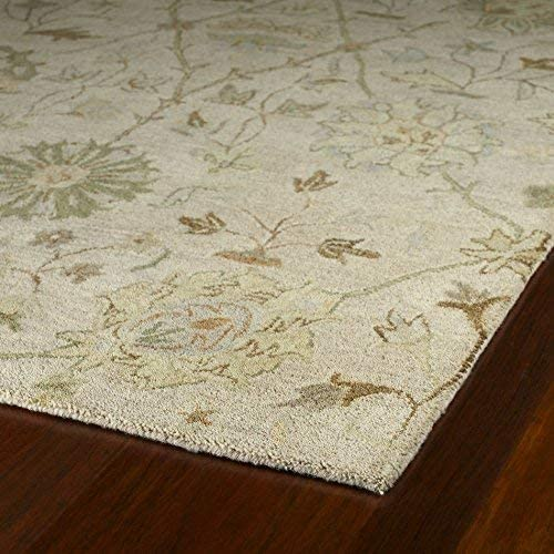 Kaleen Rugs Helena Collection 3202-01 Ivory Hand Tufted 9 x 12 Rug
