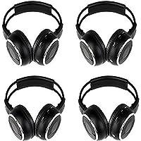 Key Audio IR Wireless Two-Channel Foldable Headphone (4-MZ-B8002RI-BLK)