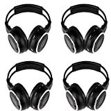 Amazon Price History for:4 Pack of Key Audio IR Wireless Two-Channel Foldable Headphone, Two Channel Folding Adjustable Universal Rear Entertainment System Infrared Headphones for in Car TV Video Audio Listening