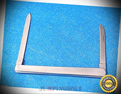 RR745 MELON tester stainless two blade fruit knife 5'' closed - Knife for Bushcraft EMT EDC Camping Hunting