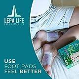 Premium Aromatherapy Rose Foot Pads