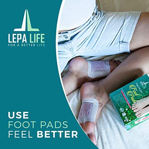 Amazon Premium Aromatherapy Body Cleanse Foot Pads Stress