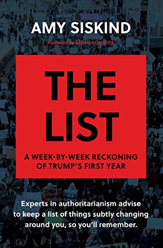The List: A Week-by-Week Reckoning of Trump's First Year cover