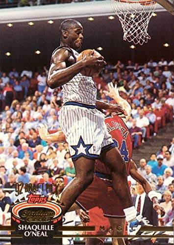 1992-93 Topps Stadium Club Basketball #247 Shaquille O'Neal Rookie Card ()