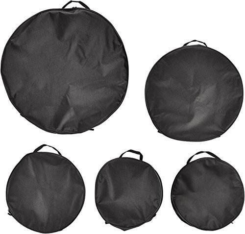 Universal Percussion Pro 4 DMC500 Nylon Standard Drum Bag Set, 5-Piece ()
