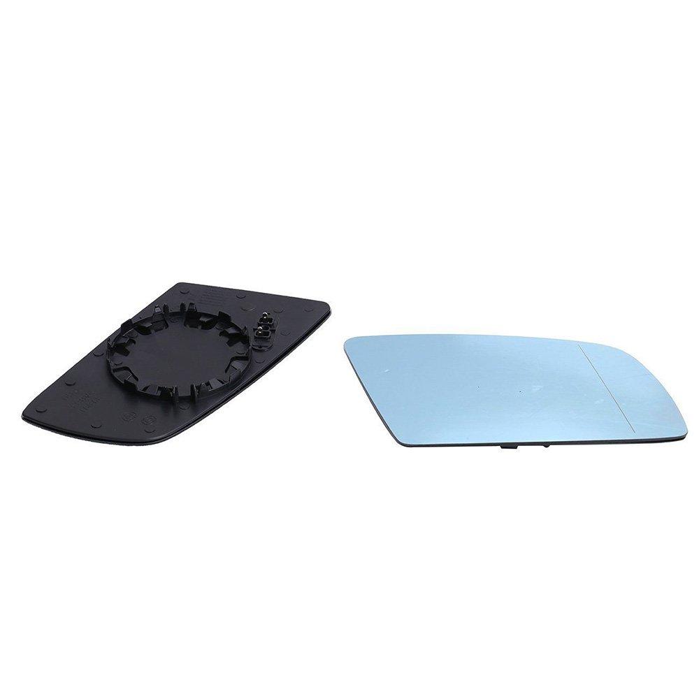 2 unidades Espejo el/éctrico retrovisor para coche tintado en color azul Ricoy