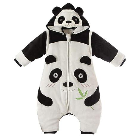 Panda bebé saco de dormir piernas gruesas cuatro estaciones ...