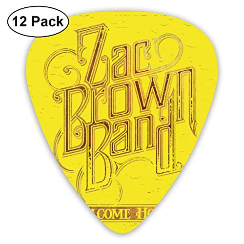 (Corashopping Zac Brown Classic Picks (12 Pack) for Electricguitars,Acoustic Guitars,Mandolins and Basses)