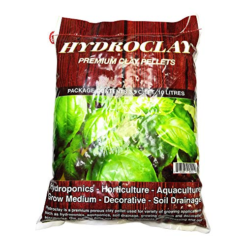 Hydroclay Premium Hydroponics Clay Pellets Substrate 10 litres