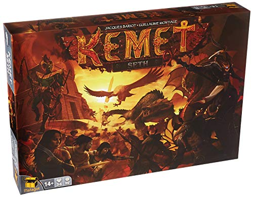 Matagot KEM03 Kemet: Seth Expansion, Multicolor