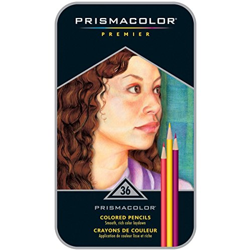 Prismacolor 92885T  Premier Colored Pencils  Soft Core  36 Piece
