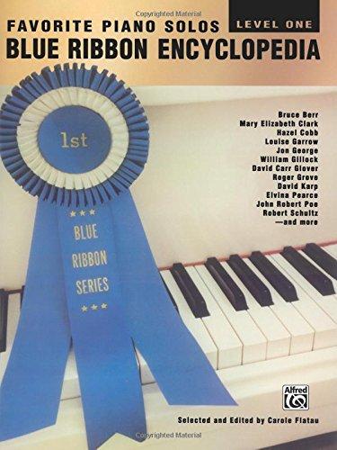 Blue Ribbon Series - Blue Ribbon Encyclopedia Favorite Piano Solos: Level 1 (Blue Ribbon Series)