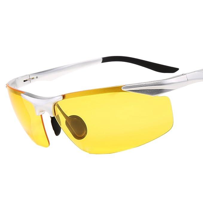 Gafas de sol polarizadas de los hombres/Día y noche tonos/Campaña condujo las gafas de sol/Especiales conducir mirrors/gafas polarizadas/Visión nocturna-G: ...