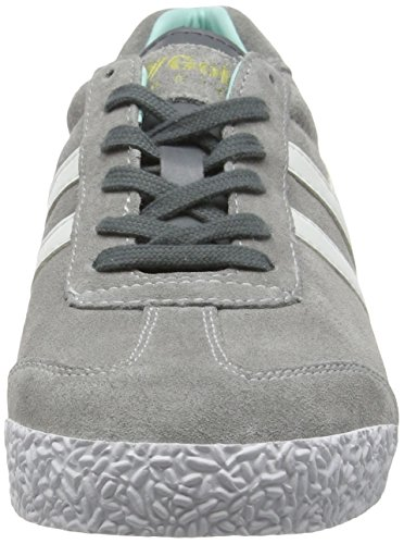 Harrier Gola Trainers Windchime Mint Grey Suede Womens Classics FwqE1P