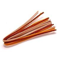 KnorrPrandell 8471055–Pipe Cleaners 50 CM x Diameter 6 MM Natural / orange mix