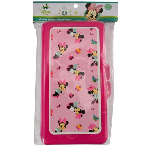 Disney Minnie Mouse Baby Wipes Travel Case by Disney