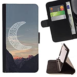 Momo Phone Case / Flip Funda de Cuero Case Cover - Indien de l'Amérique Canyon - Apple Iphone 5 / 5S