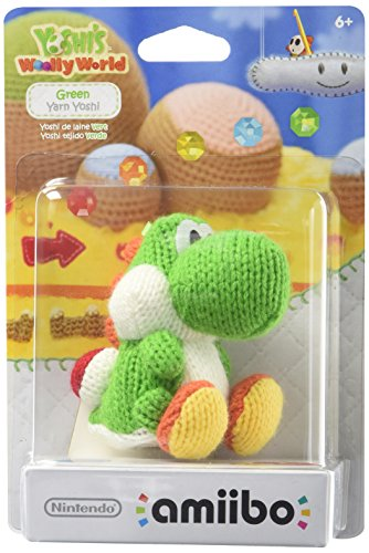 Green Yarn Yoshi amiibo (Yoshi's Woolly World Series)