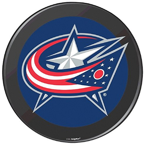Columbus Blue Jackets Black Hockey Puck Laminated Cardstock Cutout NHL Hockey Sports Party Decoration, 12