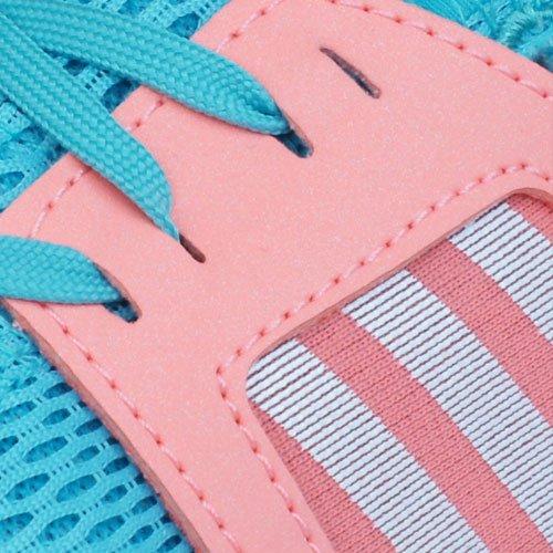 adidas Durama K, Zapatillas de Running Unisex Infantil Verde / Blanco / Rojo (Menint / Ftwbla / Brisol)
