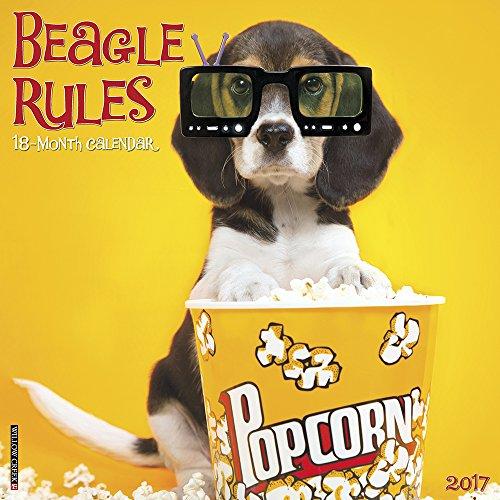 Beagle Rules 2017 Wall Calendar
