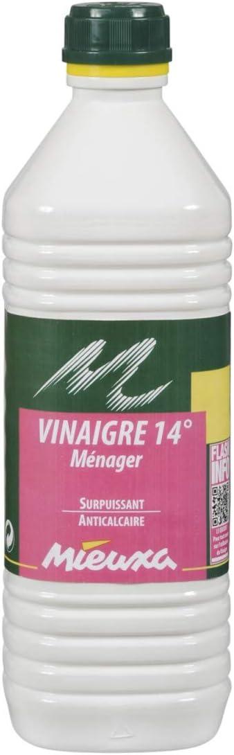 VINAIGRE MENAGER SURPUISSANT 14/° 1L Mieuxa