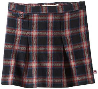 Appaman Little Girls' PS 23 Skirt, Poppy Red/Plaid, 2