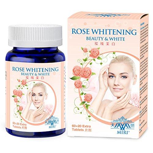 MIRI Rose Whitening, skin whitening pills with Rose, Oric...