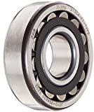 FAG 21304E1TVPB Spherical Roller Bearing, Straight Bore, Polyamide/Nylon Cage, Normal Clearance, Metric, 20mm ID, 52mm OD, 15mm Width