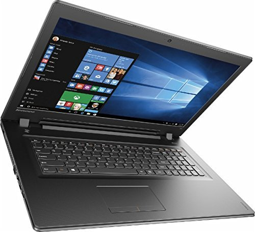 "2016 Lenovo 17.3"" HD+ High Performance Laptop, Intel Core i5-6200U Processor, 8GB RAM, 1TB HDD, DVD +/- RW, Intel HD Graphics 520, Webcam, HDMI, VGA, WIFI, Bluetooth, Windows 10, Black"