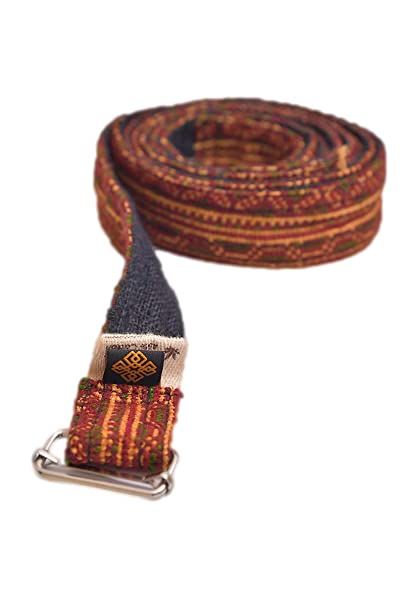 Amazon.com: virblatt 2 en 1 yoga cinturón de yoga ...