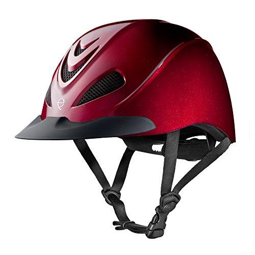 Troxel Liberty Helmet, Ruby, ()