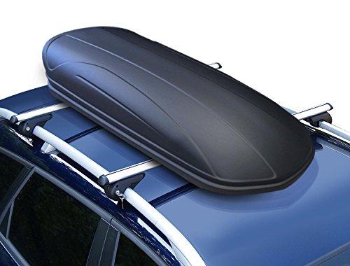 Dachbox VDP-MAA320 schwarz matt abschließbar 320 Liter