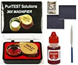 Jeweler's Professional Silver Testing Kit with Accessories & Free 5 Grain Silver Bar
