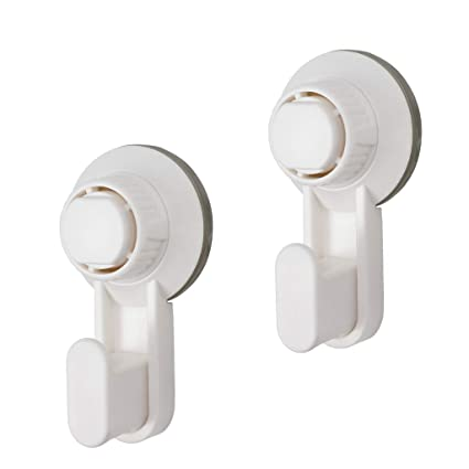 Pack of 2 Clear Removable Adhesive Christmas Wreath Hooks Composite Doors Glass Wood