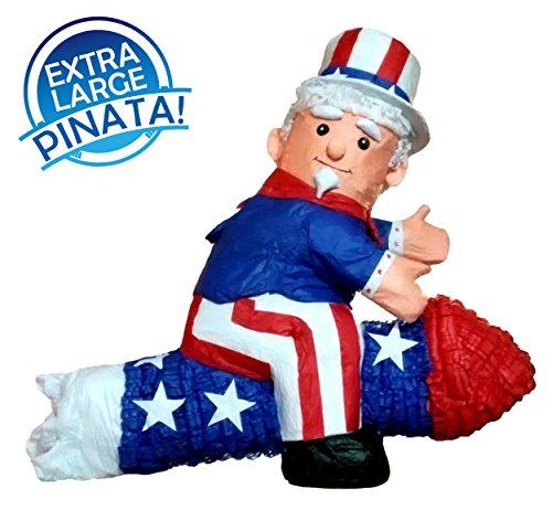 Extra Large Uncle Sam Pinata