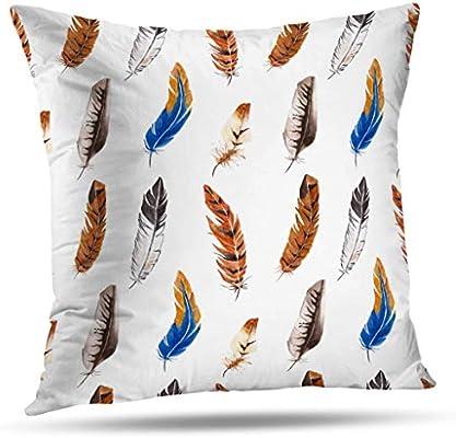 Amazon.com: pakaku Throw fundas de almohadas para sofá/cama ...