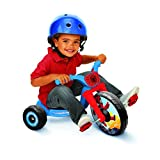 """Spiderman 76149 Spiderman Fly Wheel Tricycle Ride on , Blue/Red, 12.2"""" x 19.8"""" x 10"""""""
