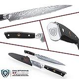 "DALSTRONG Serrated Utility Knife - 6"" - Shogun"