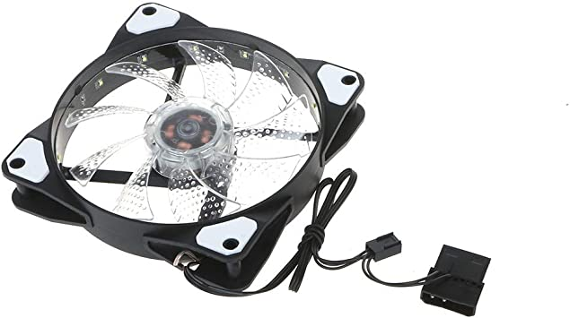 Yintiod - Ventilador para PC (120-mm, PWM, Carcasa de Ordenador ...