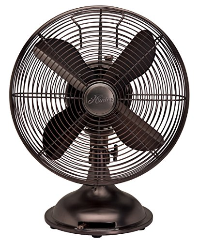 Hunter-90406-12-RETRO-Fan-with-Oil-Rubbed-Bronze-Finish
