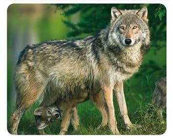 Wolf Mama Mit Baby Hochwertige Maus Pad Mit Tierenmauspad Mit