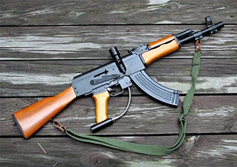 Amazon Com Konkor Mk 47 I Ak Paintball Rifle Marker Paintball