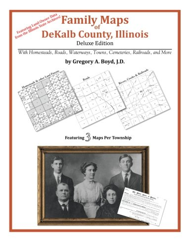 Family Maps of Dekalb County, Illinois