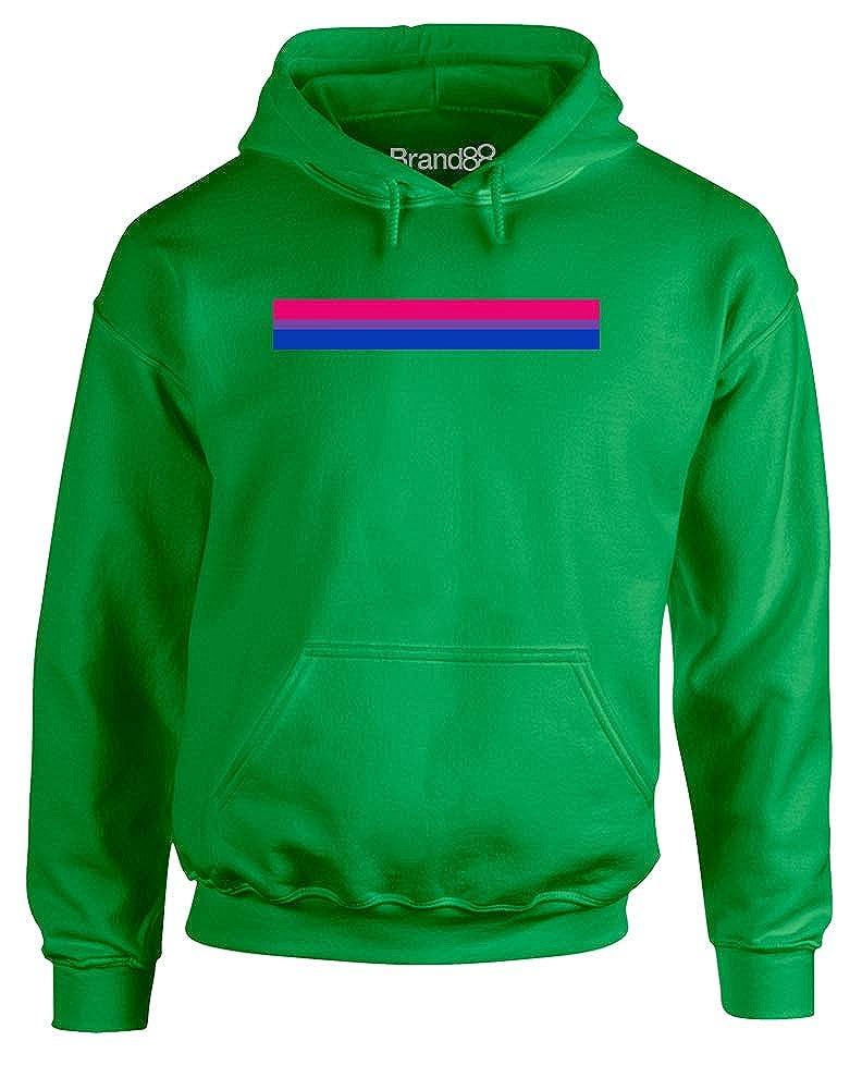Bisexual Pride Adults Printed Hoodie Brand88