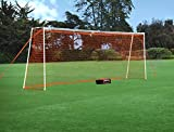 GOLME PRO Training Beach Soccer Goal 7.2x18 Ft. - Full Size Ultra Portable Soccer Net
