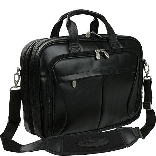 McKlein USA Pearson Expandable Leather Laptop Briefcase