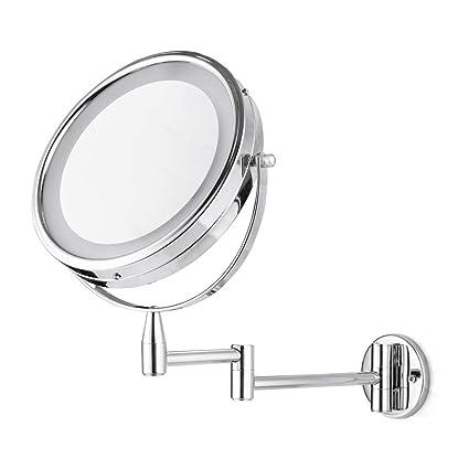 Amazoncom Firmloc Lighted Led Vanity Makeup Mirror 1x7x
